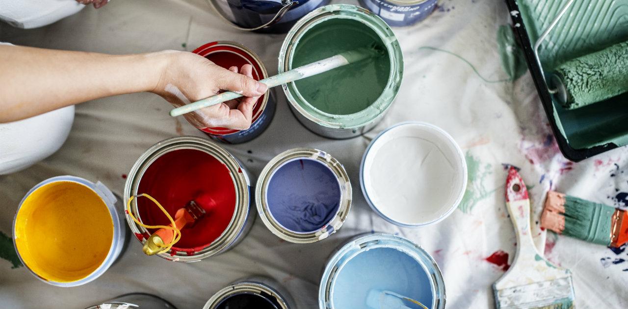 Prima Di Pitturare Una Parete i vantaggi della pittura acrilica