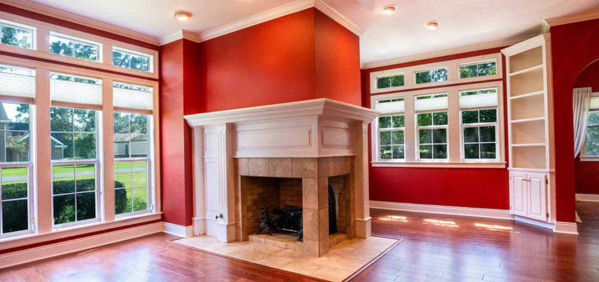 colori caldi pareti