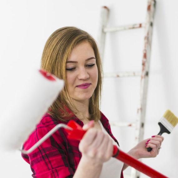 pitturare le mura di casa
