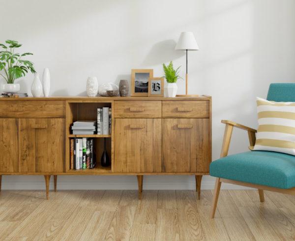 abbinare mobili a pareti