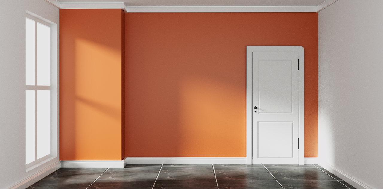 Pareti color ruggine: con quali stili di arredamento si ...