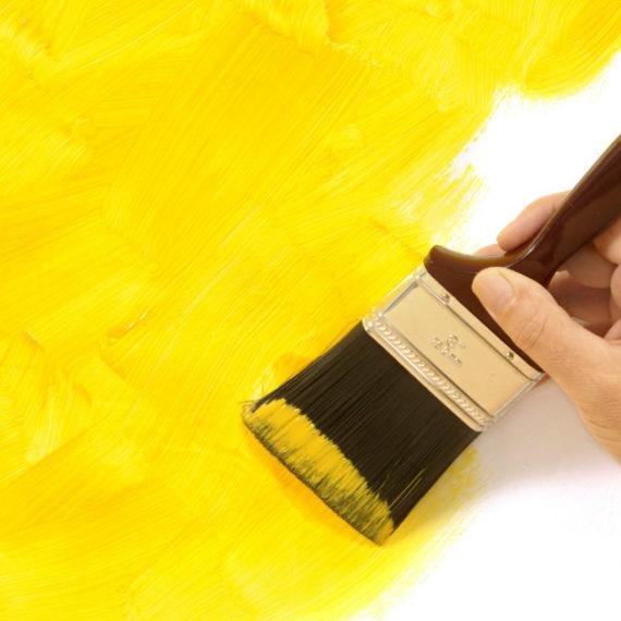 pareti gialle