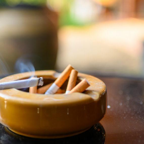 macchie di fumo sulle pareti
